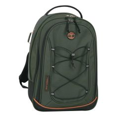 Timberland Luggage Claremont 17-Inch Backpack Upright Carry On Bag, Olive/Orange, One Size Timberland. $36.77. 100% polyester. Multiple interior organizer pockets. Pvc free. 600d poly. 10 year warranty