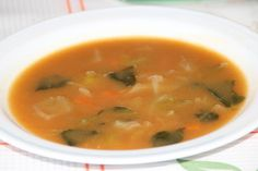 sopa de feijao Portuguese Soup, Portuguese Recipes, Easy Cooking, Cooking Recipes, Malva Pudding, Puerto Rican Cuisine, Portugal, Soup And Sandwich, Home Food