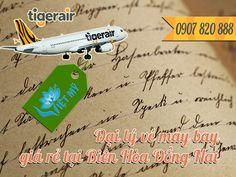 Đại lý Tiger Air Biên Hòa