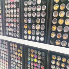 Mr. Nail Art supplies at the House of Polish salon  Magnetic board to hold it all