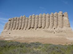 Great Kyz Kala: Merv, Turkmenistan