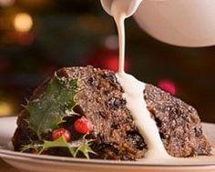 Christmas pudding is easy to make just set aside time to make it before Christmas Day. Serve this Christmas pudding with homemade brandy custard. FInd more on Kidspot New Zealand's recipe finder Christmas Pudding, Christmas Desserts, Christmas Recipes, Xmas Pudding, Christmas Cooking, Christmas Goodies, Christmas Ideas, Hp Sauce, Carrot Pudding