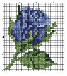 63 Ideas For Wall Design Pattern Color Combos Small Cross Stitch, Cross Stitch Cards, Cross Stitch Rose, Cross Stitch Flowers, Cross Stitching, Cross Stitch Embroidery, Embroidery Patterns, Modern Cross Stitch Patterns, Cross Stitch Designs