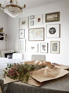 Dit huis in Göteborg zit vol met prachtige gallery walls - Roomed