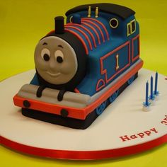Image detail for -Thomas 3D Train - Cakes 4 Fun cakes and cake decorating