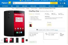 ‪#‎OnePlus‬ One now available to buy via ‪#‎Flipkart‬ at Rs. 19,998 ‪#‎gadgets‬ ‪#‎tech‬