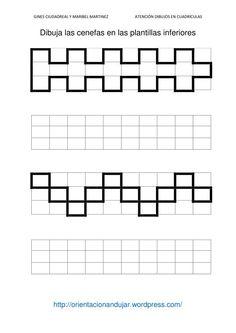 grafomotricidad con cuadricula - Buscar con Google