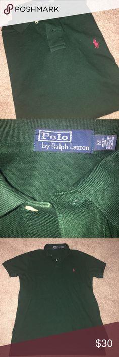 POLO🏇🏾MEN'S Ralph Lauren men's polo shirt. Red and Forrest green. Polo by Ralph Lauren Shirts Polos