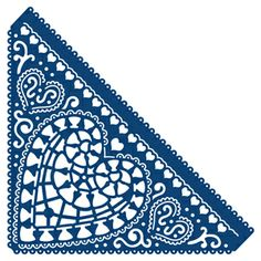 D175 Tattered Lace Dies - Chantilly Heart