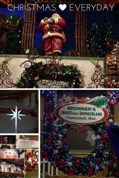 bronners christmas wonderland - Worlds Largest Christmas Store
