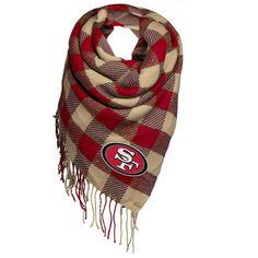 #NewYear #Fanatics.com - #Forever Collectibles San Francisco 49ers Women's Oversized Scarf - AdoreWe.com