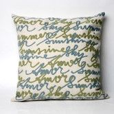 Found it at Wayfair - Amour Square Indoor/Outdoor Pillow
