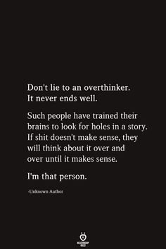 Do not Lie To An Overthinker. It By no means Ends Effectively Do not Lie To An Overthinker. It By no means Ends Effectively ,Life Quotes , Do not Lie To An Overthinker. It By no means Ends Effectively , quotes quotes for him quotes for husband […] Deep Relationship Quotes, Complicated Relationship Quotes, Inspirational Quotes Relationships, Social Media Ruins Relationships, Struggling Relationship Quotes, Rekindle Relationship, Relationship Questions, Broken Relationships, Marriage Relationship