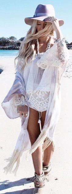 ☮ American Hippie Bohemian Style ~ Summer Boho