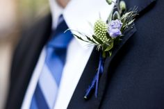 Men's Wedding Flowers  Ladybird Weddings  boutonniere