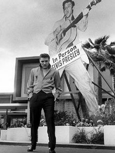 Elvis at the new frontier hotel 1956