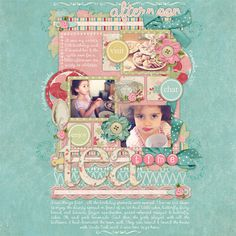 Scrapbook layout ► Really like the layout