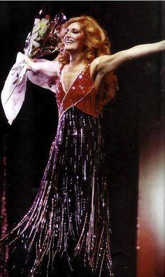 Dalida au Palais des Sports Paris Janvier 1980