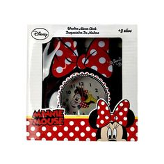 Disney Minnie Mouse Wooden Alarm Clock battery childrens bedroom black NEW Boxed Clocks For Sale, Childrens Bedroom, Alarm Clocks, Bedroom Black, Wooden Clock, My Ebay, Minnie Mouse, Gift Wrapping, Joy