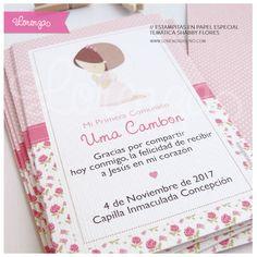 Primera Comunión / Estampitas Diseños personalizados! www.lorenzadiseño.com Saavedra / C.A.B.A. / Argentina Envíos a todo el país!
