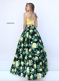 Pinterest | @mbg2019 | ☼ ☾ · 8th Grade DanceSkirt SetDress SkirtSherri HillLong  DressesProm DressesYellow BlackColor YellowProm 2016