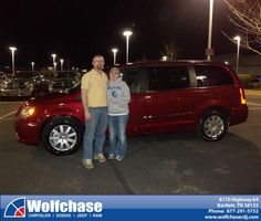 #HappyAnniversary to Geoffrey Frost on your 2012 #Chrysler #Town & Country from John Haynes at Wolfchase Chrysler Jeep Dodge!