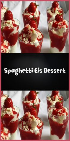 Zutaten 8 Portionen 500 g Mascarpone 500 g Magerquark 100 g Puderzucker 2 Pck. V… Ingredients 8 servings 500 g mascarpone 500 g skimmed curd 100 g powdered sugar 2 packs of vanilla sugar 2 tablespoons lemon juice 2 cups of cream … Quick Healthy Desserts, Summer Desserts, Easy Desserts, Dessert Simple, Brunch Recipes, Meat Recipes, Juice Recipes, Cake Recipes, Spaghetti Eis Dessert