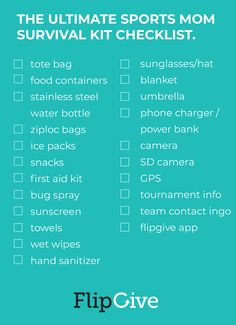 How to Pack the Ultimate Sports Mom Survival Bag Football Kit Bag, Team Mom Football, Softball Mom, Panthers Football, Swim Team Mom, Mom Survival Kit, Games For Moms, Cheer Mom, Sports Mom