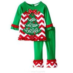 Girls Clothing Sets Kids Christmas Tree Stripe T-shirt + Cotton Casual Pants Outfit Suit Girl Christmas Suit Children's Clothes(China (Mainland)) Girls Christmas Pajamas, Christmas Suit, Christmas Tree Dress, Girls Christmas Outfits, Kids Outfits Girls, Girl Outfits, Green Christmas, Christmas Clothes, Kids Christmas