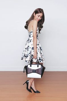 Mgp Dress, Coach Shoes, Kate Spade Bag Tricia Gosingtian, Fashion Bags, Fashion Trends, Outfit Goals, Coach Shoes, Kate Spade Bag, Asian Girl, Street Style, Chic