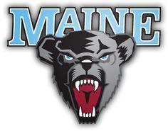 University of Maine Black Bears, NCAA Division I/America East Conference, Orono, Maine University Of Maine, Drake University, University College, Sports Team Logos, Hockey Logos, Sports Teams, Bear Logo, Black Bear, Back Home
