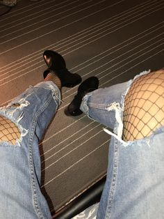 #Fishnettights #jeans #tommyhilfigerboots