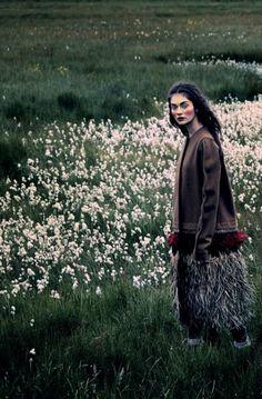 "leahcultice: "" Antonina Vasylchenko by Luis Sanchis for D La Repubblica September 2014 """