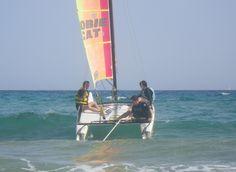 #hobie15 #catamaran #sailing #waves