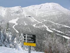 Stowe, Vermont, skied here too!