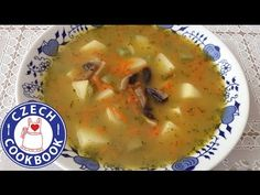 Czech Cookbook - Video Recipes in English - US Measurements - US Ingredients | Potato Soup – Bramborová Polévka