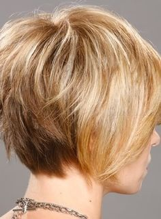 short hairstyles for women over 50 - layered bob haircut for mature women