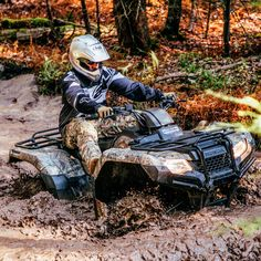 This Is Why I have an ATV I'm going mudding for my birthday