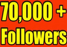 70,000+ Real Followers on Twitter for $30? Embedded image permalink