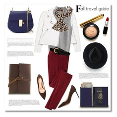 """Fall Travel Guide"" by pattykake ❤ liked on Polyvore featuring Gianvito Rossi, MANGO, Icebreaker, Kate Spade, Chloé, Royce Leather, Ryan Roche and W.Kleinberg"