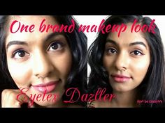 Eyetex dazzler|Affordable, Simple & easy winged liner makeup look|One br...