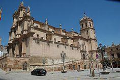 Colegiata San Patricio de Lorca, Murcia.