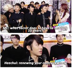 The Secret of 10 years Super Junior
