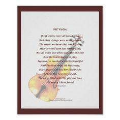 Old Violins Poster