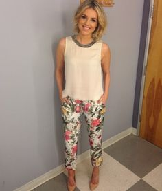 Alli Fedotowsky's hair always look chic - and I love the color too :) #InternHair