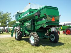 Rear of Oliver 7800 combine