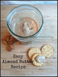 Easy Almond Butter Recipe from naptimeismytime.com #paleo #healthyliving