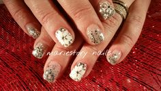 Holiday nails by @ mariestory nails