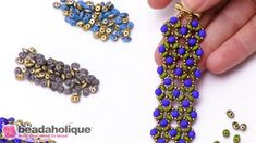 Show and Tell: Czech Glass Fool's Gold Finish SuperDuo Beads