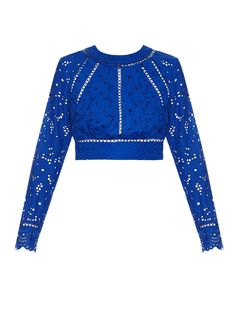 Hyper Eyelet broderie-anglaise top | Zimmermann